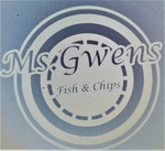 Ms. Gwen's Fish '&' Chips Logo